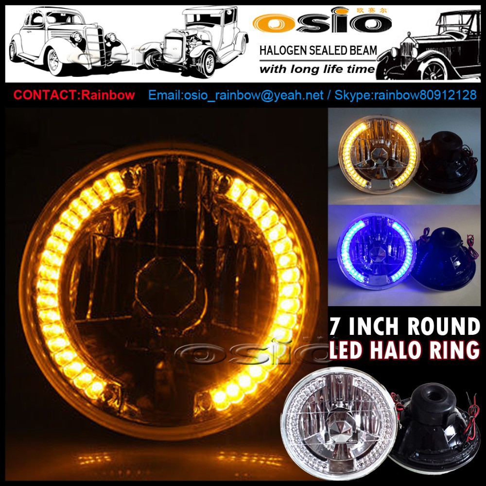 7 Led Halo Jeep Headlight Wiring Diagram Auto Electrical