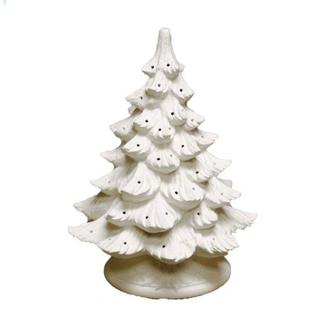 Bisque Christmas Tree Bisque Imports 2034 Bisque Lighted Christmas