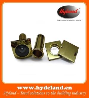 DV11 Brass Door Viewer with Cover,Security Door Viewer,Door Eye Viewer