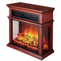 3 Sided Freestanding Media Led Electric Fireplace - Buy ...