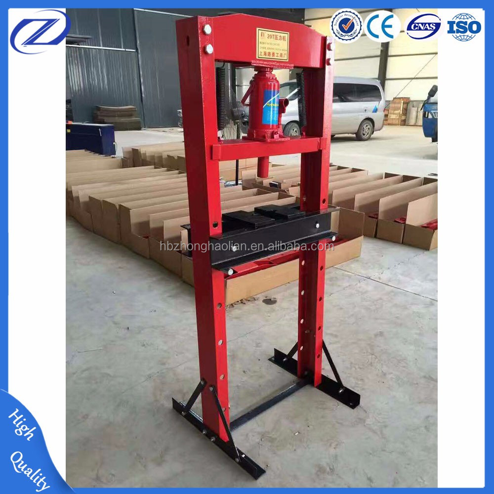 Machine Hydraulic 20t Manual Bearing Hydraulic Press Machine For Repair Garage Buy Press Machine Hydraulic Press Machine 20t Manual Bearing Hydraulic Press Machine
