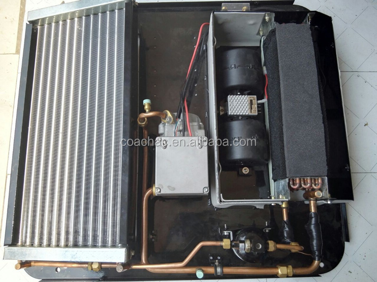 2kw Roof Top Dc 12v 24v Electric Air Conditioner For Truck