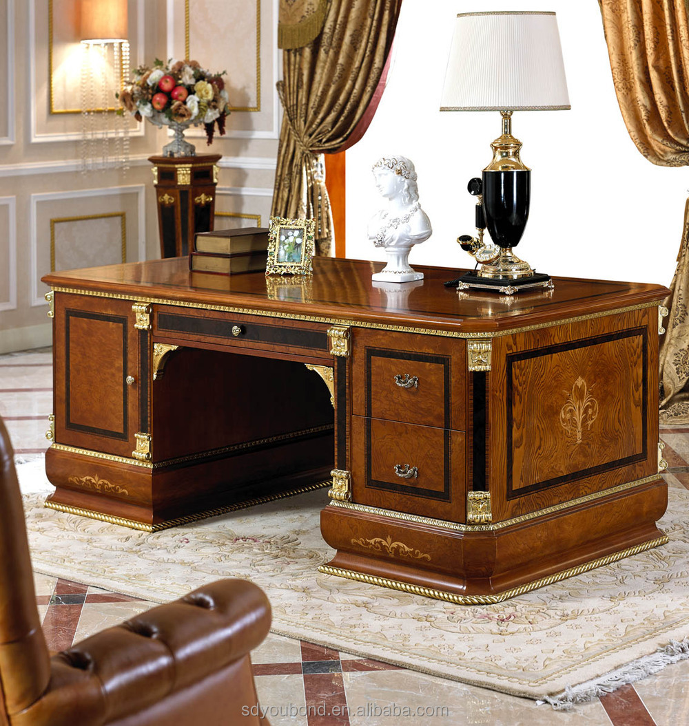Classic Table Office 0038 European Dignity Classic Executive Desk Design Executive Wooden Office Desk View Classic Executive Desk Senbetter Product Details From Foshan