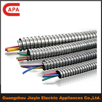 Squarelocked Flexible Metal Emt Conduit For Electrical Wire - Buy
