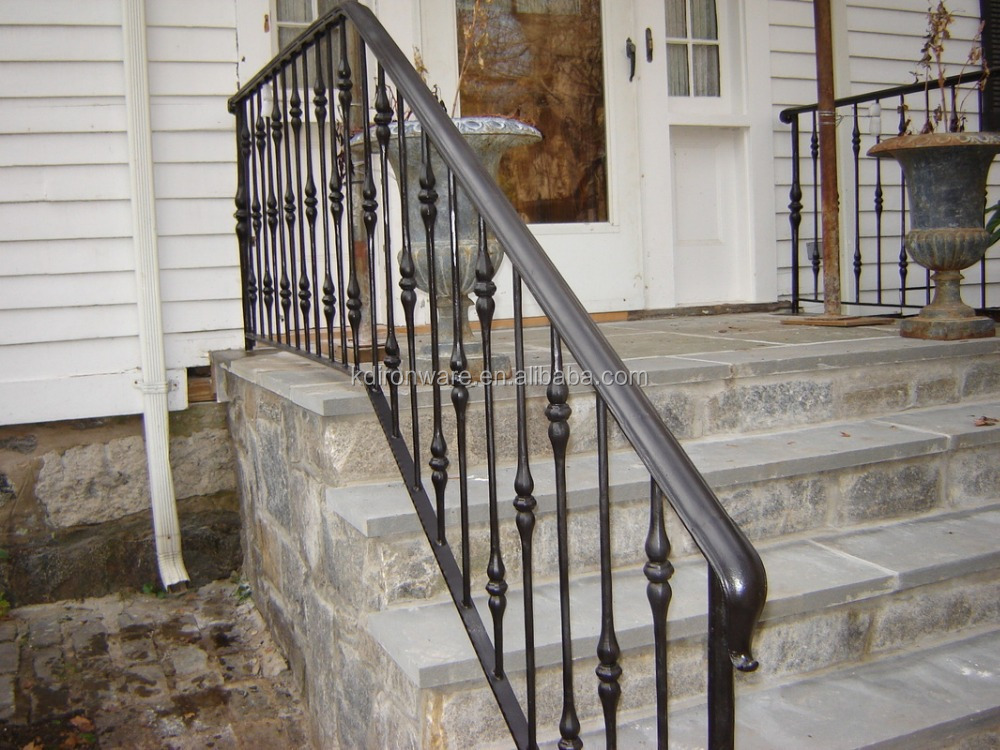 Wrought Iron Railings For Outdoor Stair Steps Lowes Buy