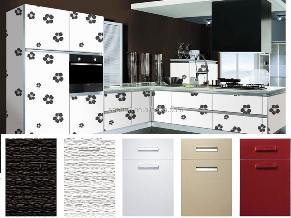 High Gloss Pvc Kitchen Cabinet Door Cheap Buy Pvc