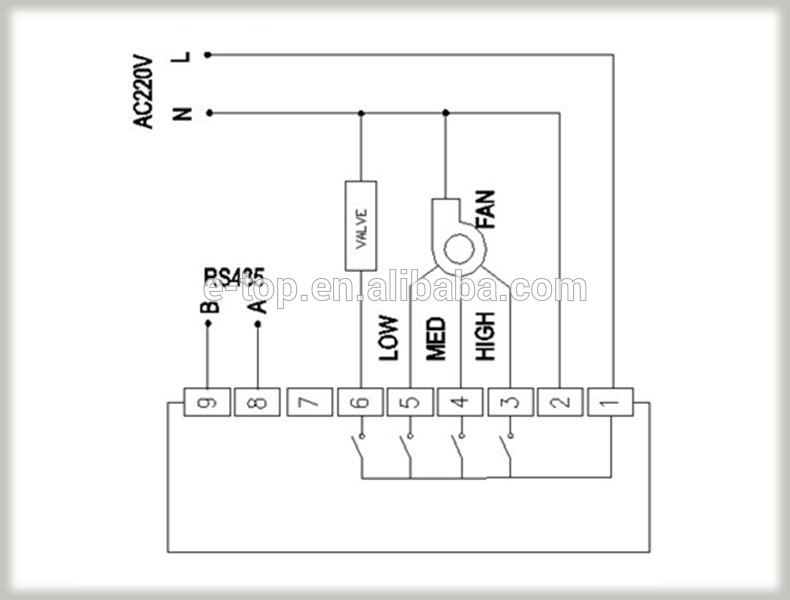 fan coil unit wiring diagram fcu connection diagram fcu image wiring