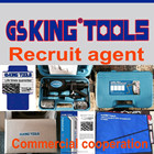 GS KING TOOLS brand recruit 1 agent in each country for hardware tools