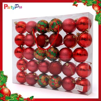 Wholesale Hot Sale Clear Plastic Christmas Ball Ornaments - plastic christmas decorations