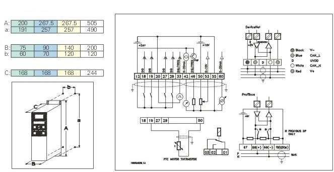 danfoss drive vlt 2800 wiring diagram