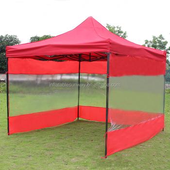 3x3 Folding Tent Canopy / Metal Pop Up Tent / Folding Canopy Shelter