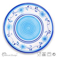 Charger Plates Decorative Ceramic Stoneware Hand Painting ...