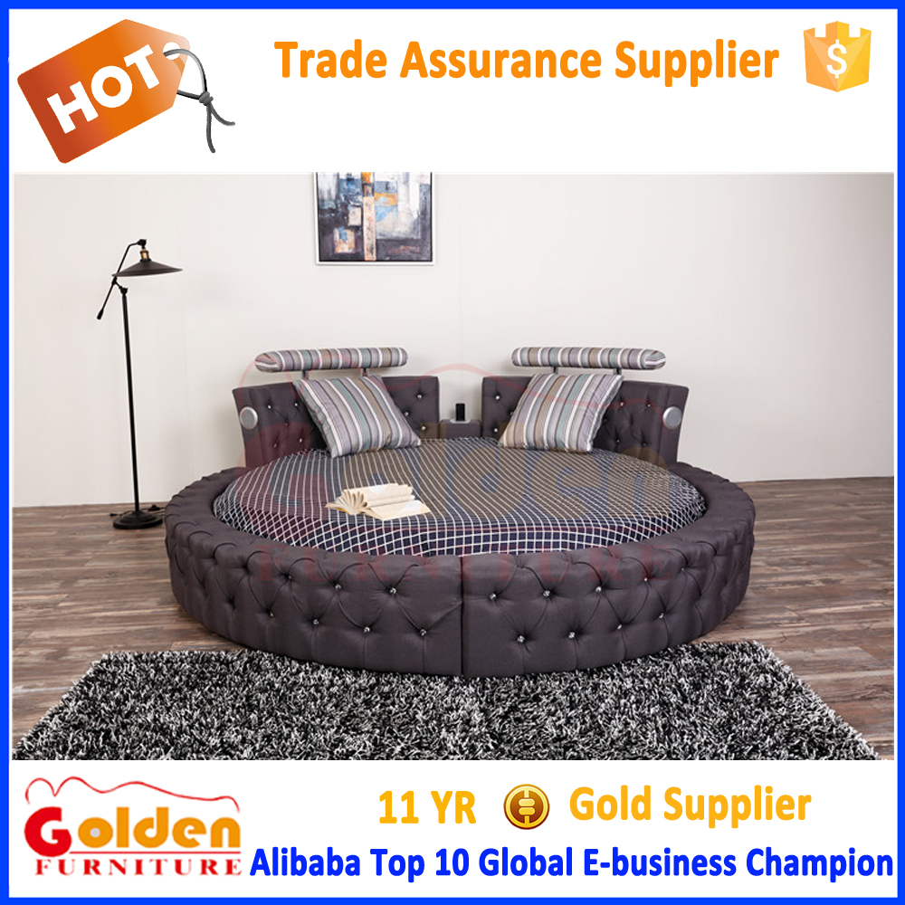 Cheap Price Furniture Modern Bedroom Furniture Designs King Size Round Bed Cheap Price For Sale 6823 Buy Round Bed Cheap Bed Round Shaped Round Bed On Sale Product On