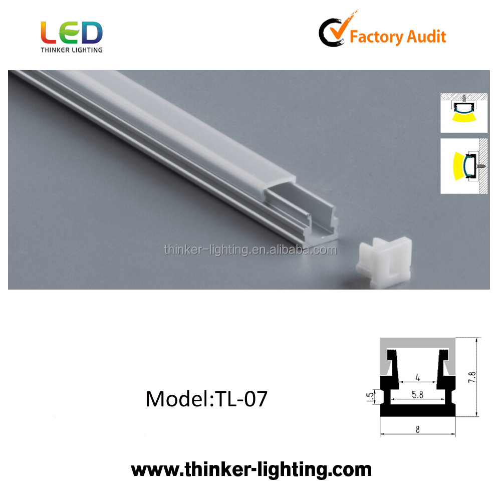 Strip Led Thinker Extruded Aluminum Frame Profile Led Aluminium Profile For Led Strip Led Lighting Tube Buy Led Aluminium Profile For Led Strip Aluminum