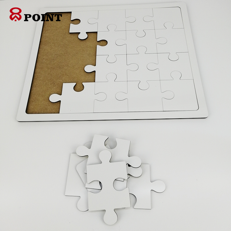 20 Jigsaws Printable Blank Sublimation Wood Mdf Puzzle With Wooden