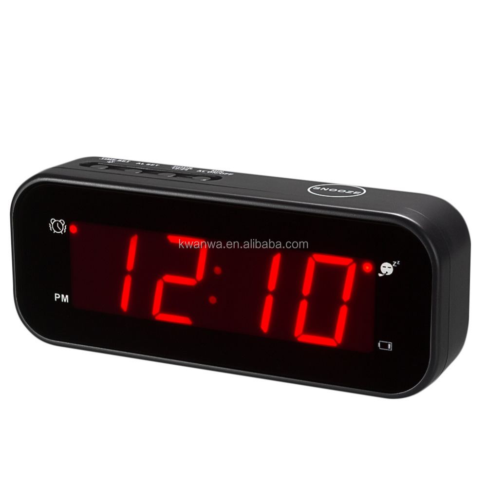 Battery Digital Kwanwa Small Pocket Travel Battery Digital Led Alarm Clock With 9