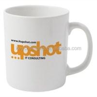 Custom Cheap Porcelain Tea Coffee Cup Ceramic Mug With ...