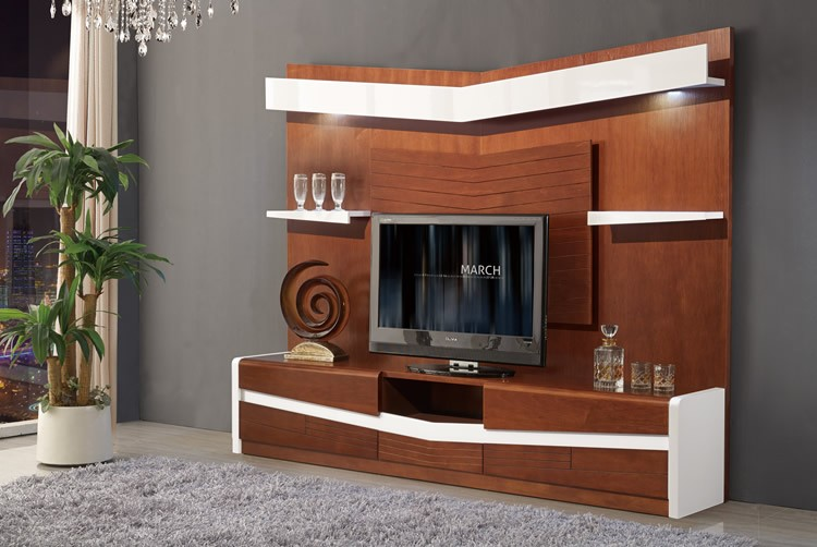 Model De Meuble Tv 2017 Living Room Wooden Furniture Chinese Tv Stand Design