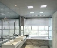 Badezimmer Dekoration Wand Aluminium Deckenplatten-Platte ...