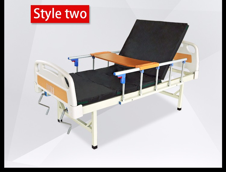 Hospital Equipment Abs Double Manual Hospital Beds Buy