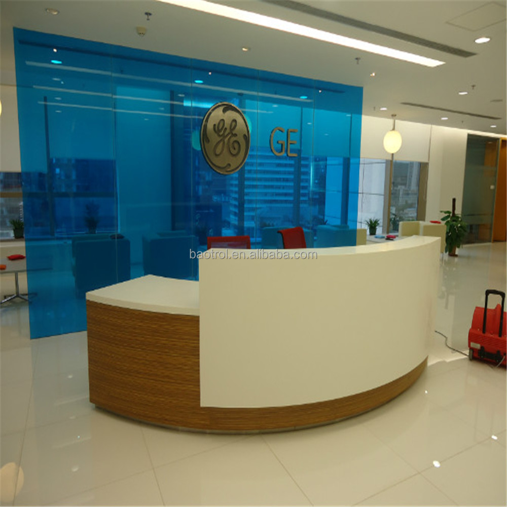 Creative Office Reception Design Creative Modern Curved Office Furniture Build A Half Round Reception Desk Buy Half Round Reception Desk Build A Reception Desk Curved Modern