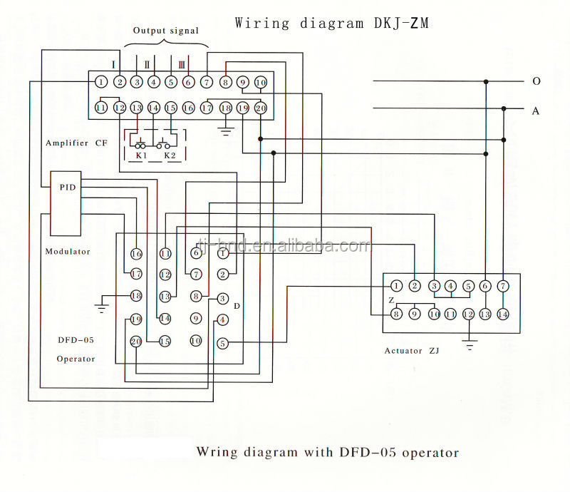 motorized butterfly valve wiring diagram