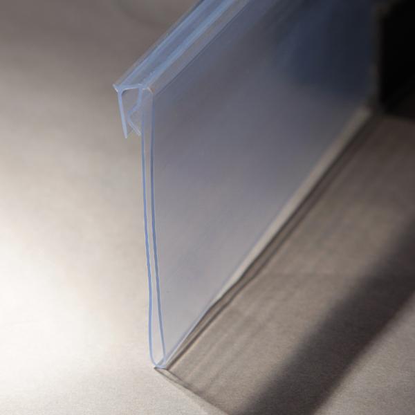 Plastic Clear Hinged Shelf Label Holders Buy Shelf Label