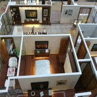Interior Layout House Model /scale Model,Apartment ...
