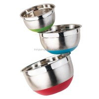 New Style Stainless Steel Mixing Bowl Set - Buy Set Mixing ...