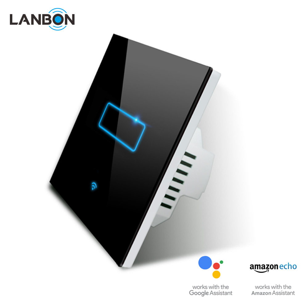 Zigbee Hub Lanbon Wifi Smart Touch Switch Beyond Zigbee And Z Wave No Hub Compatible With Google Home Amazon Alexa Buy Amazon Alexa Smart Touch Switch Switch
