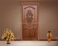 Simple Teak Wood Front Door Designs In Moroccan - Buy ...
