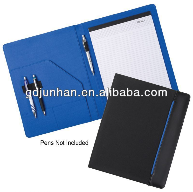 Office File Folder A4 Leather Resume Folder For Interview - Buy