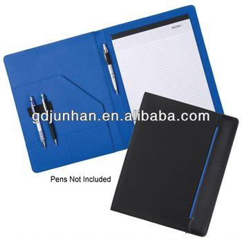 Office File Folder A4 Leather Resume Folder For Interview - Buy