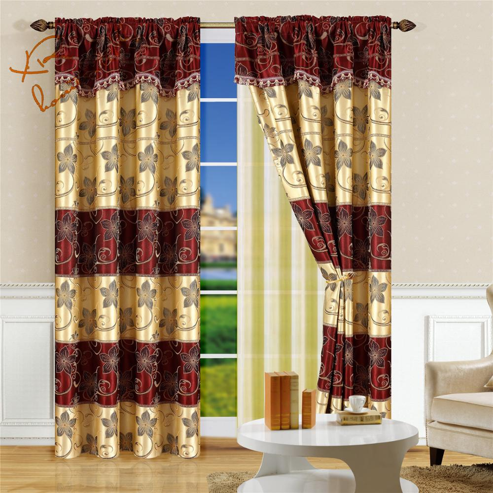Jacquard Curtains Factory Sales Living Room Valance Curtains And Jacquard Curtain Fabric Buy Jacquard Curtain Fabric Living Room Curtian Valance Curtains Product On