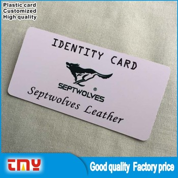 Make Your Own Plastic Cards Printable Membership Card Pvc Id Card