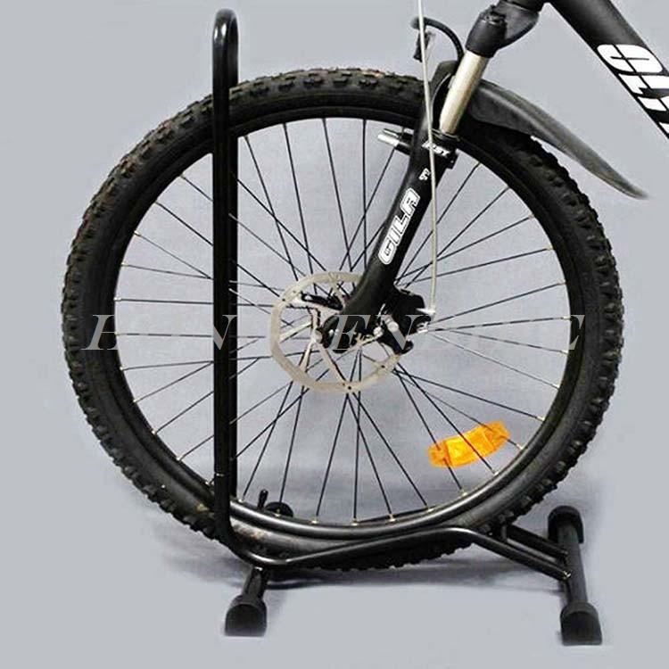Promote Sales White Bicycle Floor Mounting Repair Rack