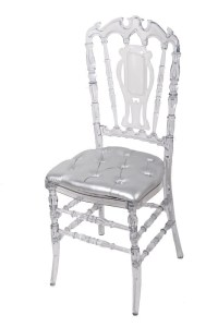 Pc Crystal Resin Royal Chair For Wedding,Banquet - Buy ...