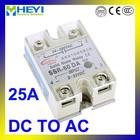 SSR-25DA, Control 3-32V DC output 24-380V AC ssr solid state relay 25A