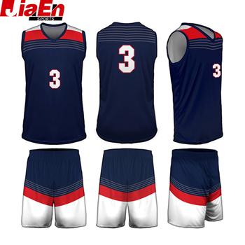 Custom Usa Mens Fashion Lastest Basketball Team Uniform Design