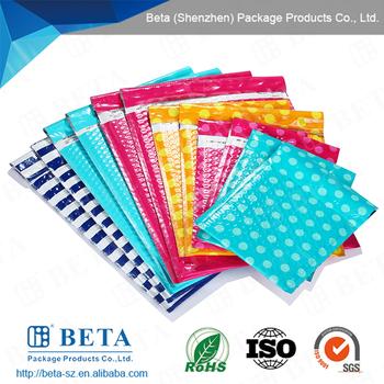 Custom Design Poly Bubble Mailer Colored Bubble Bag - Buy Design