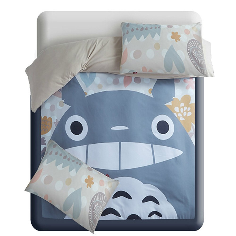 Totoro Bettwäsche Anime Bettwäsche Amazon