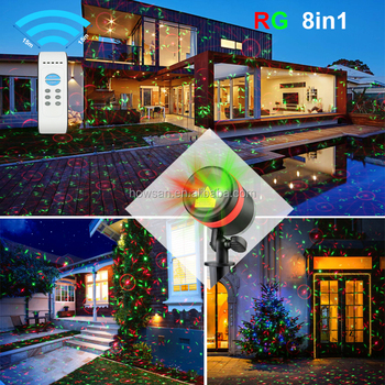 Outdoor Laser Light Christmas Decoration Long Distance Xmas Lights - christmas decoration projector