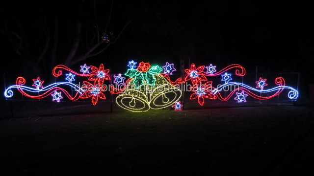 2017 New Outdoor Led Christmas Decorations Motifs Cross Street - outdoor led christmas decorations