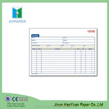 Book In Receipt Invoice Printing Hotel Invoice - Buy Hotel Invoice - hotel invoice