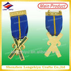2014 Sweden 3D masonic medal metal custom military air force army medals and ribbons military style medals ribbons and badges wi