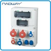 Cee/iec Plastic Industrial Electrical Waterproof Mcb ...