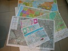 2017 Tyvek material printing world map