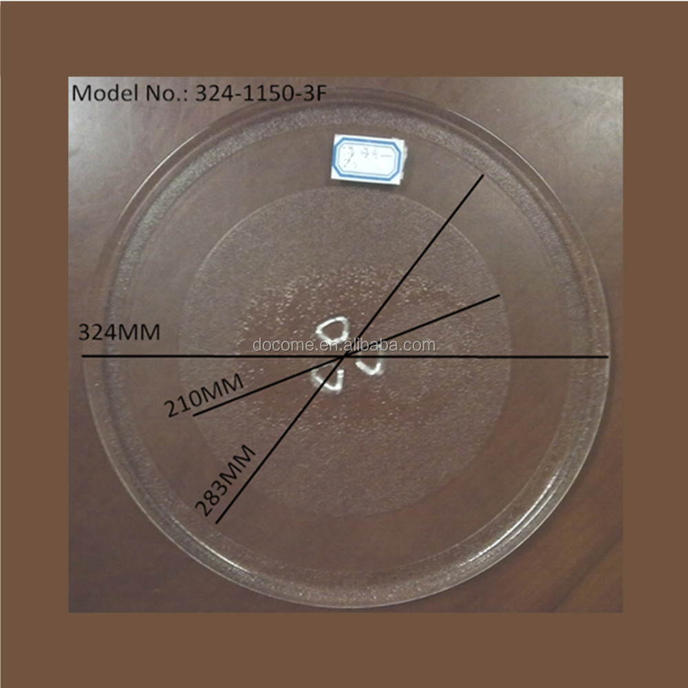 Microwave Plate Glass Turntable Plate 324mm Suitable For Lg Microwave Oven Buy Lg Microwave Turntable Plate Lg Microwave Plate Microwave Hot Plate Product On