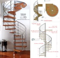 Spiral Staircase Calculator Or Spiral Stair Design Price ...