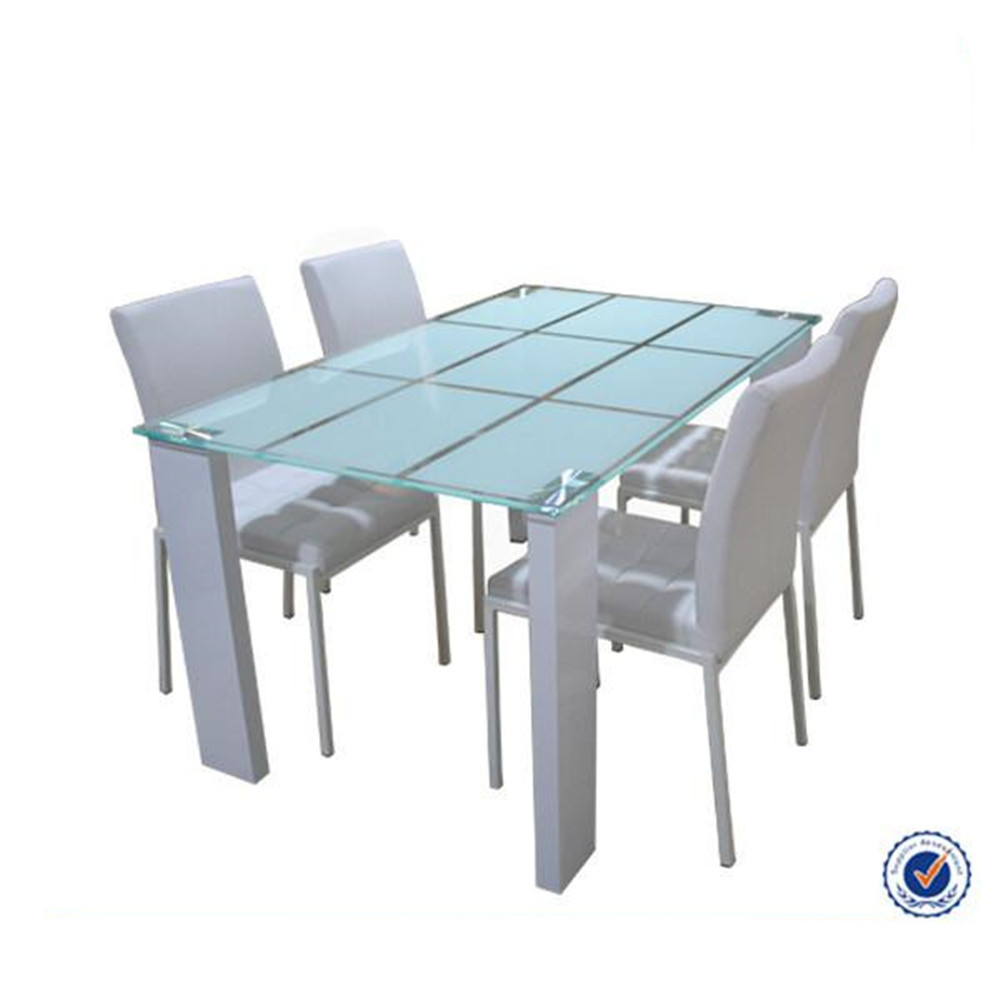 Glass Dining Table And Chairs Chinese Modern Square Tempered Glass Dining Table Set 8 Seater Dining Table Wholesale Buy Dining Table Set Tempered Glass Dining Table 8 Seater